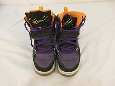 Kids Air Jordan 2012 FLIGHT 45 HIGH PREM GS 545587-033 Basketball Shoe 30535