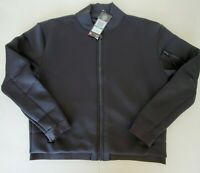 New Under Armour Luster Bomber Jacket Black 1290479 Women's Size Large MSRP $160