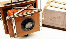 Contessa Nettel Deckrullo-Nettel Tropen 9x12 Kamera, Holzkamera, wooden camera.