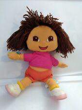 "Gund Dora The Explorer Plush TV 12""  Doll  Viacom 2001"