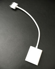 Genuine Apple 30-Pin to VGA Adapter Cable [A1368] for iPad, iPod, iPhone, EUC