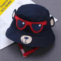 Sun Cap Adjustable Fashion Toddler Kids Baby Boys Girls Bucket Soft Summer Hat