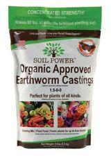 Soil Power (#SPBG2) Organic Earthworm Castings, 5 Lbs.