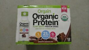 (12) Count Case Orgain Organic Plant Based Protein Shake 14 Oz Each Chocolate #7