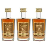 Glen Ord 12YO 5cl Sample Miniature Highland Single Malt Scotch Whisky