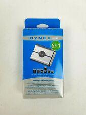 DYNEX 6 in 1 Memory Card Reader/Writer DX-CR6N1