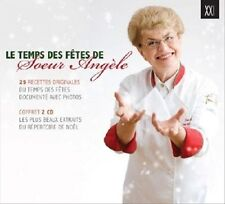 CD Le Temps Des Fetes De Soeur Angele by Various Artists 2CD 26 Tracks 2010 NEW
