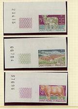 St Pierre & Miquelon  404-406    Imperforate Mint     APL0819