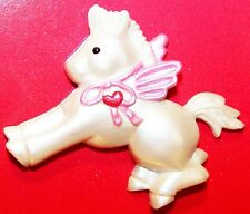 1989 Heartline Hallmark New Starbeam Pegasus Valentine Pin on Card Vrh174A