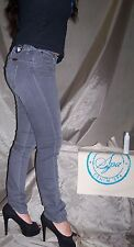WRANGLER jeans Denim Spa Molly Hot Stone Donna Tg.W31 con ALOE idratano la pelle