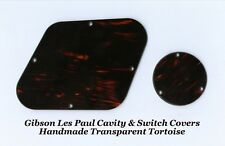Les Paul LP Tortoise Rear Cavity Control Cover Set for Gibson Guitar Project NEW