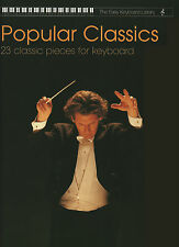 Classics Collection Easy Keyboard Sheet Music Book Classical Strauss Chopin Bach