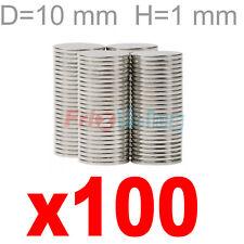 100 NEODIMIO SUPER MM 10X1 MAGNETI CALAMITA MAGNETE CALAMITE CERAMICA FIMO aq