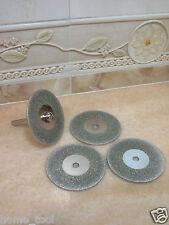 4 pieces 58mm THK Diamond cutting cut off blade blades wheel disc die grinder
