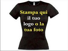 T-shirt personalizzata donna con stampa ditetta ,foto,scritta, logo
