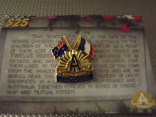 ANZAC  - 90th Anniversary of Villers Brettoneaux Limited Edition Badge