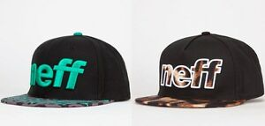 NEW NEFF Sport Leopard Furz Animal  Mens Snapback Hat Cap
