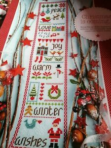 CROSS STITCH CHART CHRISTMAS SAMPLER CHART ONLY WINTER WARM WISHES
