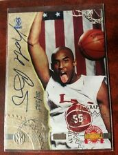 Autographed Kobe Bryant Basketball Trading Cards