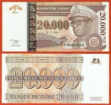 P72   Zaire    20.000  N Zaires  1996    UNC