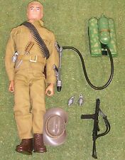 Original Vintage Action Man Suelto australiano selva Fighter tarde edición 103