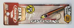 BERKLEY Jig It Fishstix 21g - Fishing Reels Rod Tackle Micro Jigs Lures