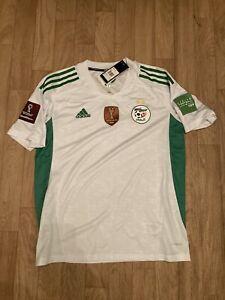 Maillot Algérie Adidas Taille M Patchs Coupe Du Monde 2022