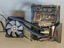 Asus motherboard cpu bundle 6700k i7 Corsair water cooler overclocked to 4.3Ghz