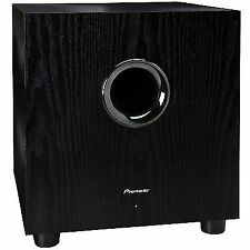 Pioneer SW-8MK2 Andrew Jones Designed 100W Powered Subwoofer (SW8MK2)