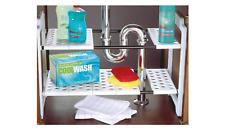 ADDIS 506881 Under Sink Storage Shelves Organizer / Solution Adjustable