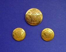 GOLD TONE SOLID METAL JOS. A BANK BLAZER REPLACEMENT BUTTONS SET OF 3 for $16.95