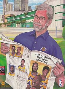 Los Angeles Lakers Official 1999/2000 NBA Basketball Yearbook Program Magazine