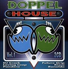 Doppel House 1 (1998) DJ Crack, Ronaldo, Code 28, Fact of Life, Loving .. [2 CD]