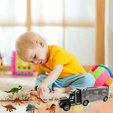 Dinosaur Truck Carry Case Transporter 6 Toys Dino Figures Jurassic Car Playset