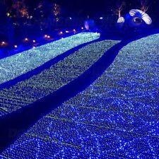 Outdoor Christmas Net Lights Gardens LED Mesh Lightings Illumination Home Decors