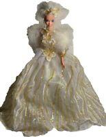 1994 Mattel Enchanted Seasons Holiday Collection Snow Princess Barbie Doll