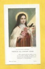 ESTAMPA andachtsbild BEATA CARMELITA TERESA DEL NINO JESUS 1921 1923 TSPA