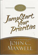 JumpStart Your Priorities JUMP START New JOHN MAXWELL Hardcover CHRISTIAN Book