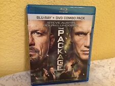 THE PACKAGE BLU-RAY (ONLY) 2013 ACTION MOVIE STEVE AUSTIN (WWE) DOLPH LUNDGREN