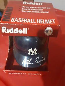 Alfonso Soriano Signed New York Yankees Mini Helmet