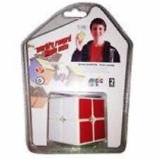 Magic Rubik's  Cube Brain Teasers Speed Cube 2x2x2 Puzzles Toys YJ8506 (White Bo