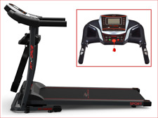 Fit-Force Cinta de correr Plegable 1600W, 15 km/h - Negro