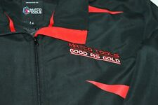 """Matco Tools """"Good as Gold"""" Black Red Trim Full Zip Jacket Mens XL Official Brand"""