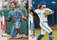 2020 Topps Opening Day Baseball Cards Base Team Set You U Pick From List