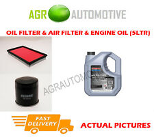 OIL AIR FILTER + SS 10W40 OIL FOR SUBARU FORESTER 2.0 177 BHP 2002-05