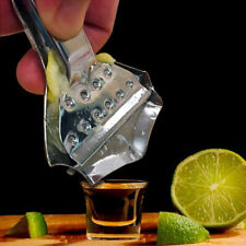 HD_ Portable Manual Press Stainless Steel Lemon Juice Squeezer Juicer Kitchen Ga