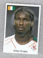 Football sticker Didier Drogba Ivory Coast FIFA WC South Africa 2010 As sport