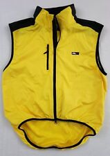 Vintage Ralph Lauren Polo Sport Rlx Vest Adult Size Large Yellow Spell Out 90s