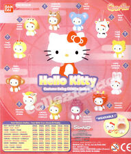 Hello Kitty Costume Swing Chinese Zodiac - BANDAI 12 PEZZI