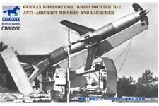 "BRONCO CB35050 1/35 German Rheinmetall ""Rheintochter"" R-2 Anti-Aircraft Missiles"